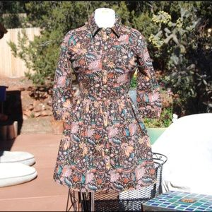 Topshop Jacquard Dress/Jacket